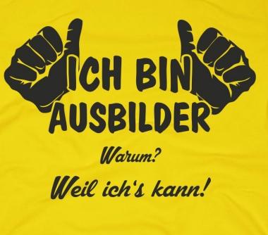 herren-t-shirt-ich-bin-ausbilder-weil-ichs-kann-gelb-schwarz